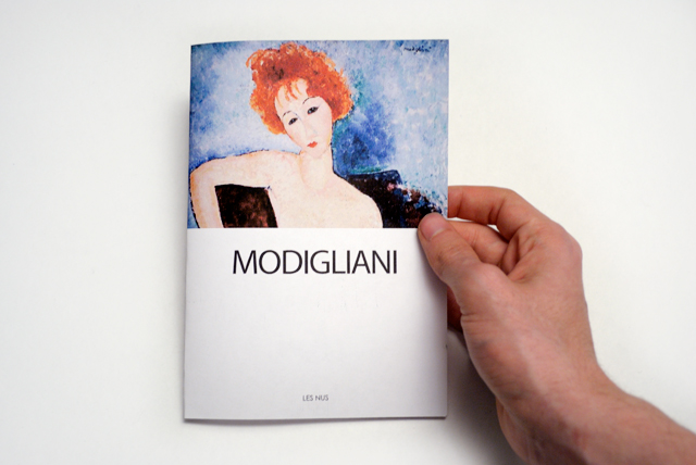 Modigliani - Frank Abbasse-Chevalier - Graphiste multimédia