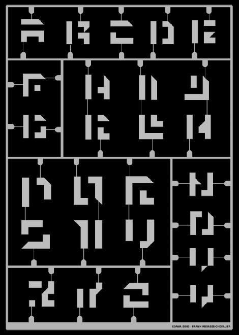 Alphabet pixel - Frank Abbasse-Chevalier - Graphiste multimédia