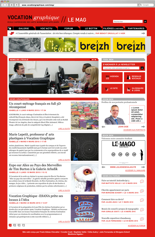 vocblog-home - Frank Abbasse-Chevalier - Graphiste multimédia