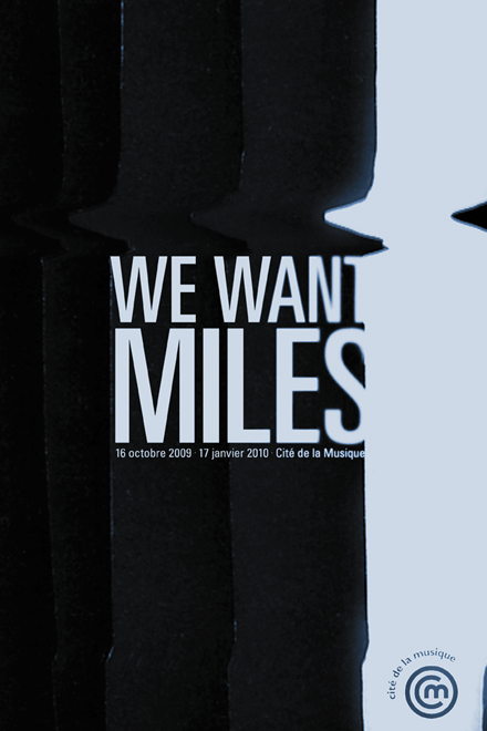 We Want Miles affiche 02 - Frank Abbasse-Chevalier - Graphiste multimédia