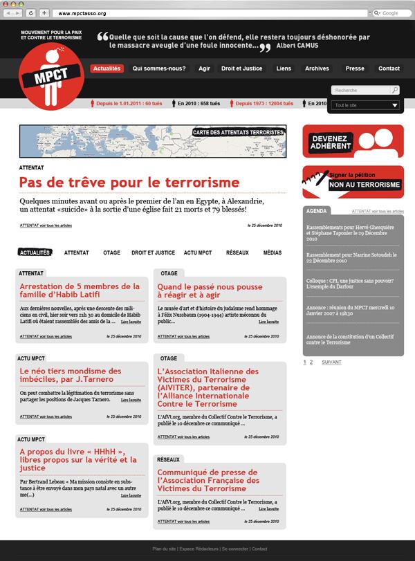 MPCT - Accueil - Frank Abbasse-Chevalier - Graphiste multimédia