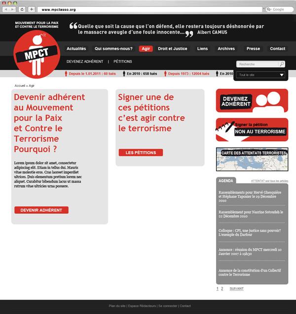 MPCT - Agir - Frank Abbasse-Chevalier - Graphiste multimédia