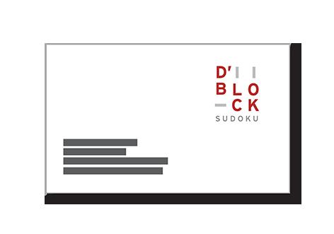 Carte de visite D'Block Sudoku